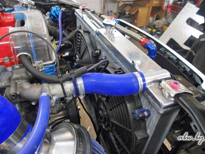 радиатор от Nissan GT-R